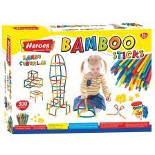 Игрален комплект Heroes - Бамбукови пръчки, 300 броя -1