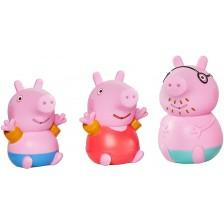 Играчка за баня Tomy Toomies - Peppa Pig, семейство -1
