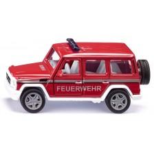 Метална количка Siku Super - Пожарникарски джип Mercedes-AMG G65 -1