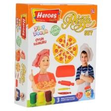 Игрален комплект Heroes Play Dough - За приготвяне на пица -1