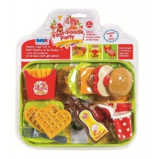 Игрален комплект RS Toys - Бърза закуска, 21 части -1
