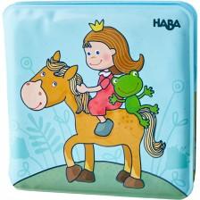 Играчка за баня Haba - Магическа книжка, Принцеси -1