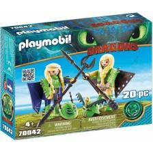 Игрален комплект Playmobil - Raffnut and Taffnut -1