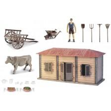 Игрален комплект Ocie Farm World - Ферма с животни -1