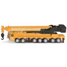 Метална количка Siku Super - Камион с подвижен кран, 1:55 -1