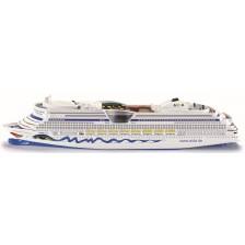 Метална играчка Siku Super - Круизен кораб Aida Luna, 1:1400 -1