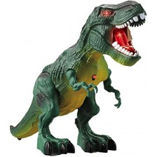 Играчка Ocie - Ходещ динозавър, с двe мини фигури -1