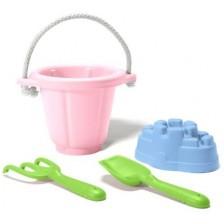 Игрален комплект за пясък Green Toys, розов -1