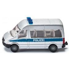 Метална играчка Siku - Полицейски микробус, 1:50 -1