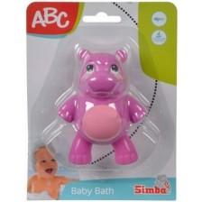 Simba -ABC-Животни за баня,  хипопотам -1