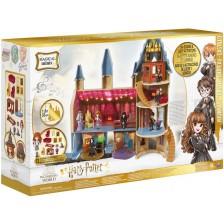 Игрален комплект Spin Master Harry Potter - Замък Хогуртс, с фигурка Хармаяни -1