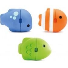 Играчки за баня Munchkin - Рибки, промяна на цвета, 3 броя -1