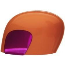 Капачка за бебешко шише iiamo go home - Оранжево и лилаво -1