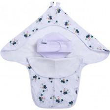 Интерлок завивка с предпазител за кръста Sevi Baby - Мечета -1