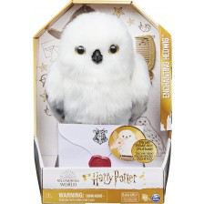Интерактивна играчка Spin Master Harry Potter - Вълшебна сова Hedwig -1