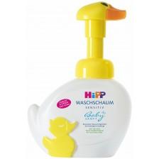 Измиваща пяна за ръце и лице Hipp - Пате, 250 ml -1