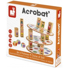 Детска игра за сръчност Janod - Акробат -1