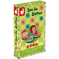 Детска настолна игра Janod Carrousel - Шашки -1