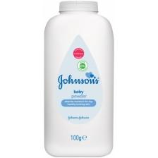Бебешка пудра Johnson's, 100 g  -1