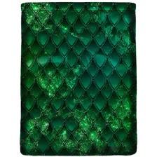 Калъф за книга Dragon treasure - Emerald Green -1