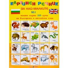 Картинен речник за най-малките с 225 думи + магнитни букви