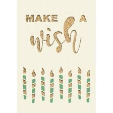 Картичка Gespaensterwald Paper Deluxe - Make a Wish -1