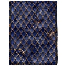 Калъф за книга Dragon treasure - Sapphire Blue -1