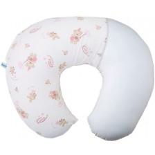 Калъфка за възглавница за кърмене Mycey - Baby stars pink -1