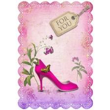 Картичка Gespaensterwald Romantique - For You, обувка -1