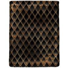 Калъф за книга Dragon treasure - Gold & Diamond Black -1