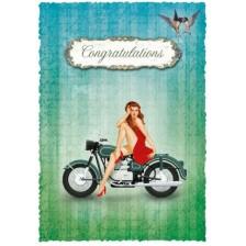 Картичка Gespaensterwald Romantique - Congratulations -1