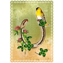 Картичка Gespaensterwald Romantique - Подкова -1