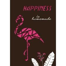 Картичка Gespaensterwald Paper Deluxe - Фламинго -1