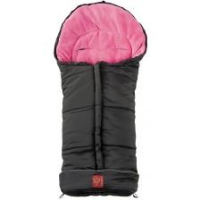 Бебешко чувалче Kaiser Jooy - Черно и розово -1