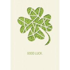 Картичка Gespaensterwald Paper Deluxe - Good Luck -1