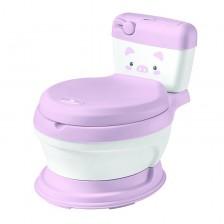 Гърне с тоалетна чиния Kikkaboo - Lindo, розово -1