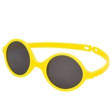 Слънчеви очила Ki ET LA - Diabola, yellow, 0-1 година -1