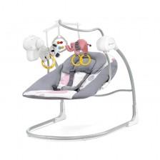 Бебешка люлка 2 в 1 KinderKraft Minky - Розова -1