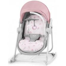Бебешка люлка 5 в 1 KinderKraft Unimo - Розова, с цветя -1