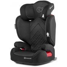 Столче за кола KinderKraft Xpand - Черно, с Isofix, 15-36 kg -1