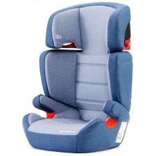 Столче за кола KinderKraft Junior - Синьо, с IsoFix, 15-36 kg -1