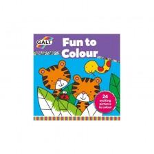 Книжка за оцветяване Galt - Оцветяването е забавно -1