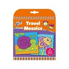 Книжка за път Galt - Картинки с мозайки -1