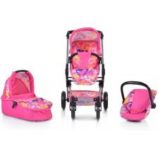 Комбинирана количка за кукли Moni - Venera -1
