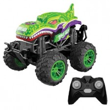 Кола с пара Ocie - Steam Monster Dinosaur Radio/C 1:18, зелен -1