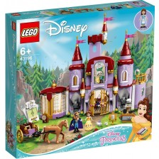 Конструктор Lego Disney Princess - Belle and the Beast's Castle (43196) -1