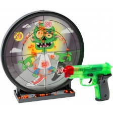 Комплект Villa Giocattoli Zombie Crisis -  Мишена и еърсофт пистолет -1