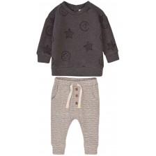 Комплект блуза и панталон Minoti - Easy 5, 9-12 месеца -1