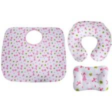 Комплект за кърмене Sevi Baby - 3 части, принцеси -1
