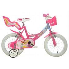 """Детско колело Dino Bikes - Принцеси, 14"""" -1"""